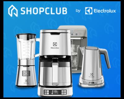 Até 40% OFF no ShopClub Electrolux