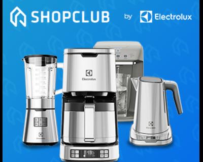 Até 40% OFF no ShopClub Electrolux.