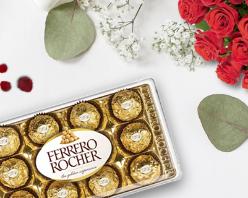 Seleção de 15% com Ferrero Rocher