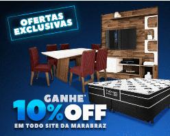 10% OFF em todo o site Marabraz