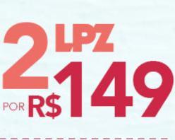 Quanto mais LPZ, melhor para o seu Carnaval! 2 Óculos LPZ por R$149