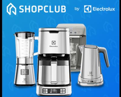 Até 40% OFF no ShopClub Electrolux com Estácio